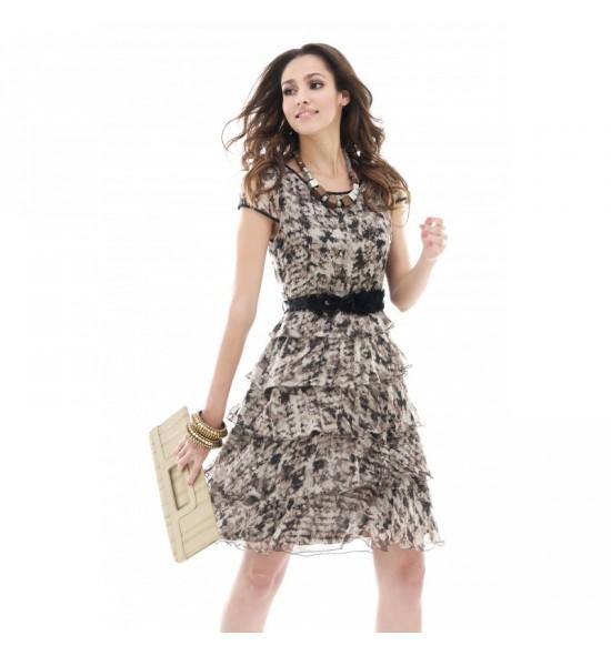 Krátké šaty - kombinace